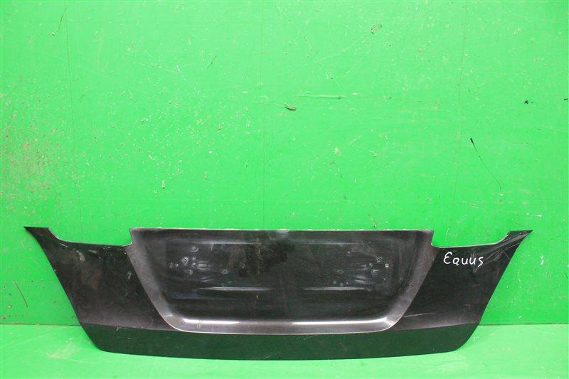 Накладка крышки багажника Hyundai Equus 2009 (б/у)
