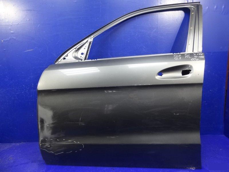 Дверь Mercedes Ml Gle W166 2011 передняя левая (б/у)