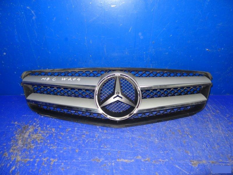 Решетка радиатора amg Mercedes C W204 (б/у)