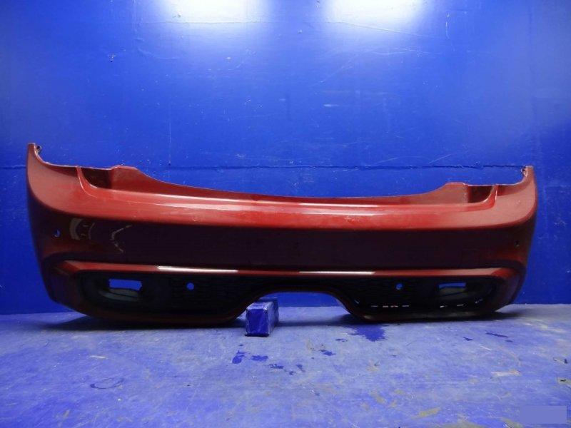 Бампер Mini Cooper S R58 COUPE 2011 задний (б/у)