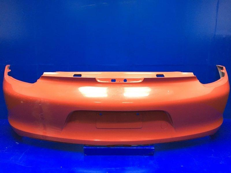 Бампер Porsche Boxster 981 2012 задний (б/у)