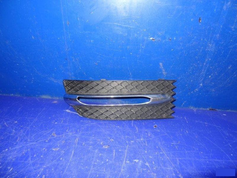 Накладка бампера Mercedes Slk R172 2011 левая (б/у)