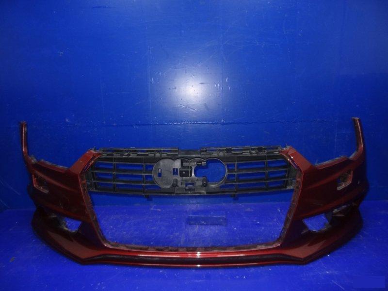 Бампер s-line Audi A7 4G 2014 передний (б/у)