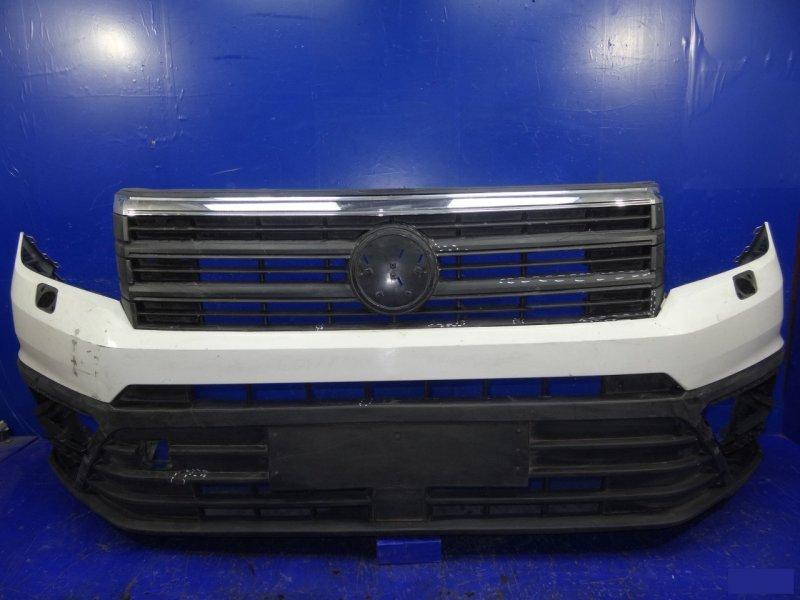 Бампер Volkswagen Crafter передний (б/у)