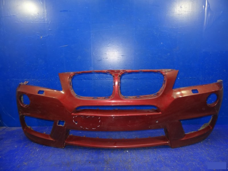 Бампер Bmw X3 M Sport F25 2010 передний (б/у)
