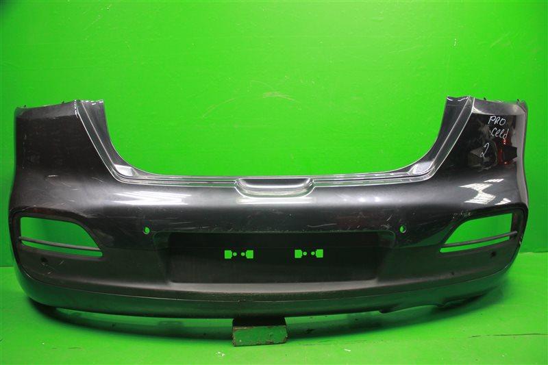 Бампер Kia Pro Ceed 2 2012 задний (б/у)
