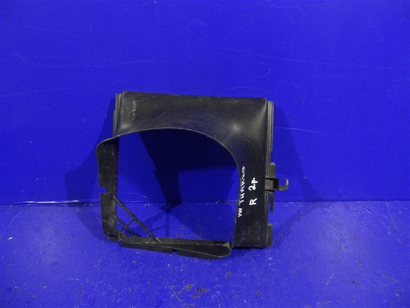 Воздуховод интеркулера Volkswagen Touareg 1 2007 задний правый (б/у)