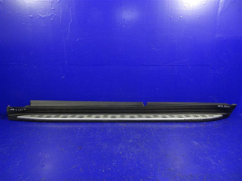 Накладка порога Mercedes Gl Gls X166 левая (б/у)