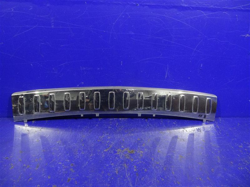 Накладка бампера Mercedes Ml Gle W166 2011 задняя (б/у)