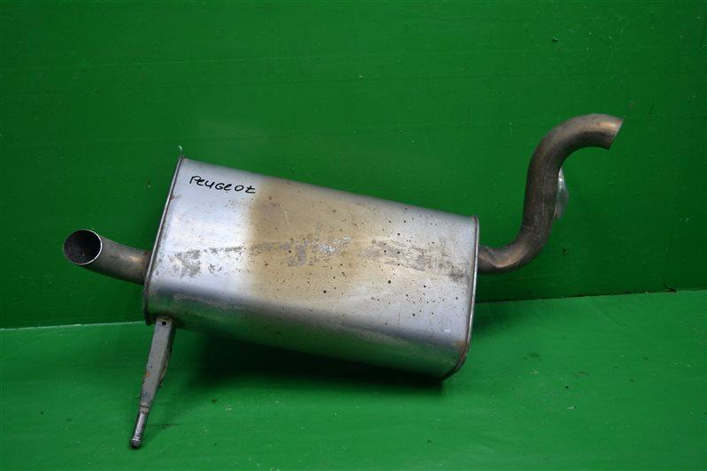 Глушитель Peugeot 407 2004 (б/у)