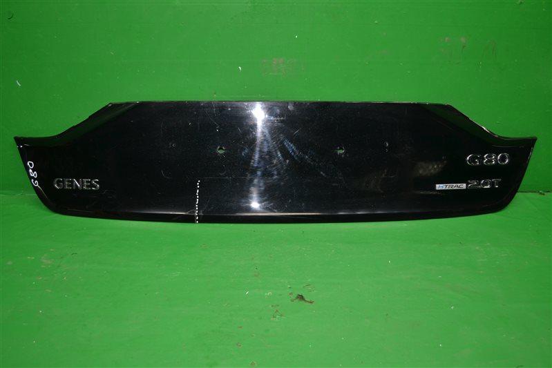 Накладка крышки багажника Genesis G80 G80 2013 (б/у)