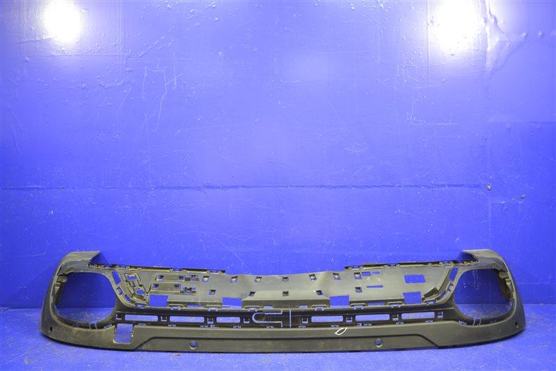 Юбка бампера Bmw X6 M Paket F16 2015 задняя (б/у)