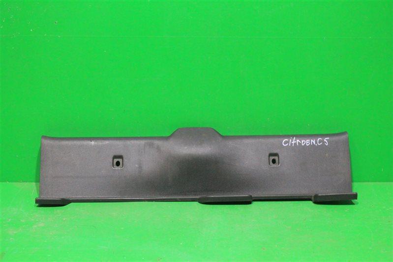 Накладка замка багажника Citroen C5 2 2008 (б/у)