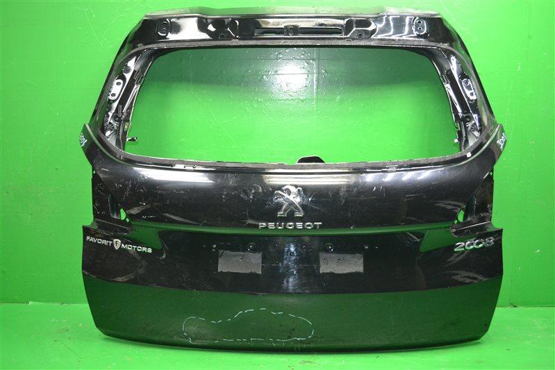 Дверь багажника Peugeot 2008 2013 (б/у)