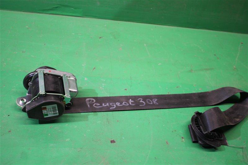 Ремень безопасности Peugeot 308 2007 правый (б/у)