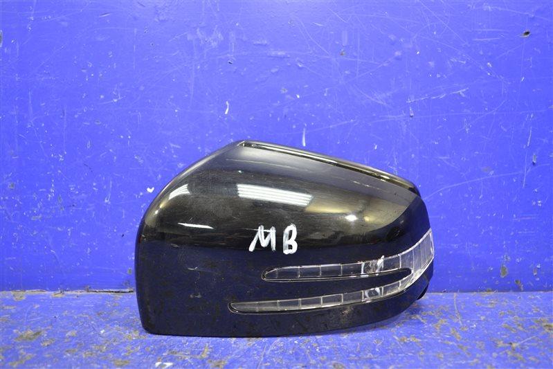 Крышка зеркала Mercedes Ml Gl W166 2012 левая (б/у)