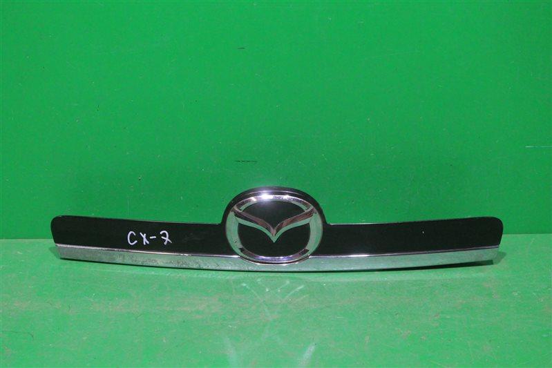 Накладка крышки багажника Mazda Cx-7 Cx7 2009 задняя (б/у)