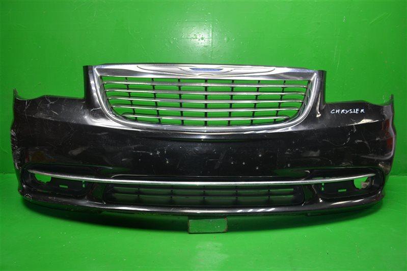 Бампер Chrysler Town Country 5 РЕСТАЙЛИНГ 2010 передний (б/у)