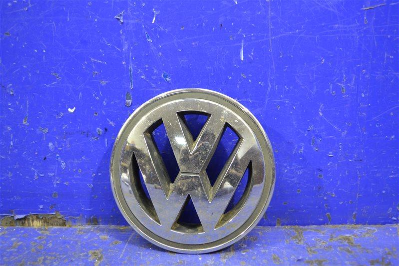 Эмблема Volkswagen 1K5853600 передняя (б/у)