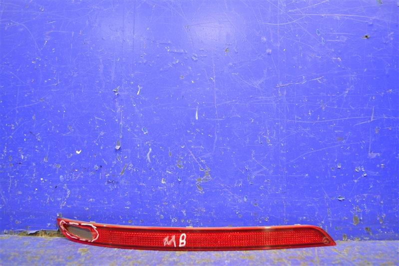 Катафот бампера Mercedes Ml Gle W166 2015 задний левый (б/у)