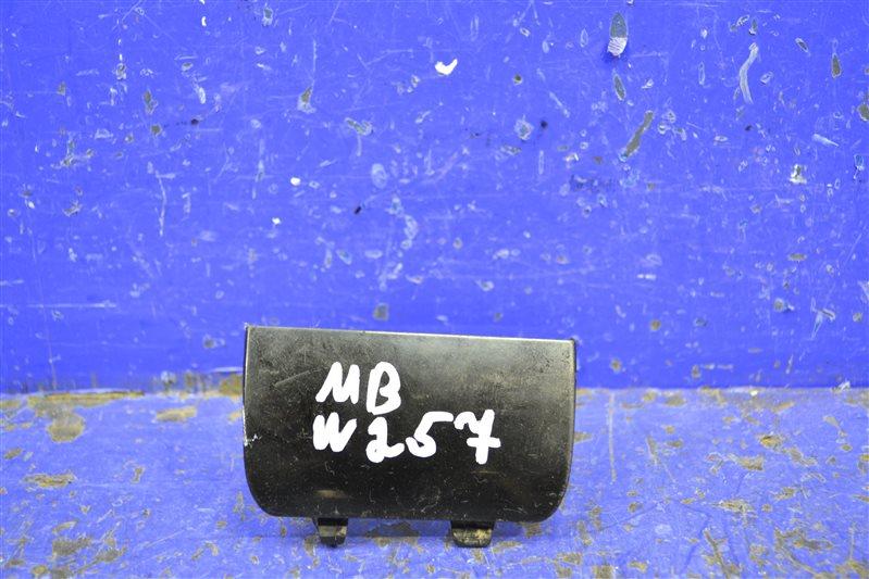 Заглушка бампера amg Mercedes Cls C257 2018 передняя правая (б/у)