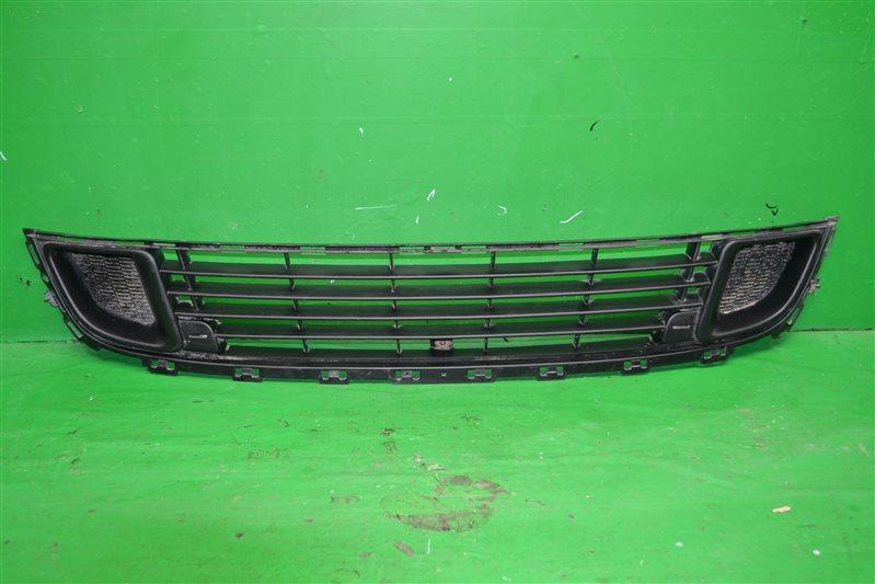 Решетка бампера Citroen C5 2 2008 передняя нижняя (б/у)