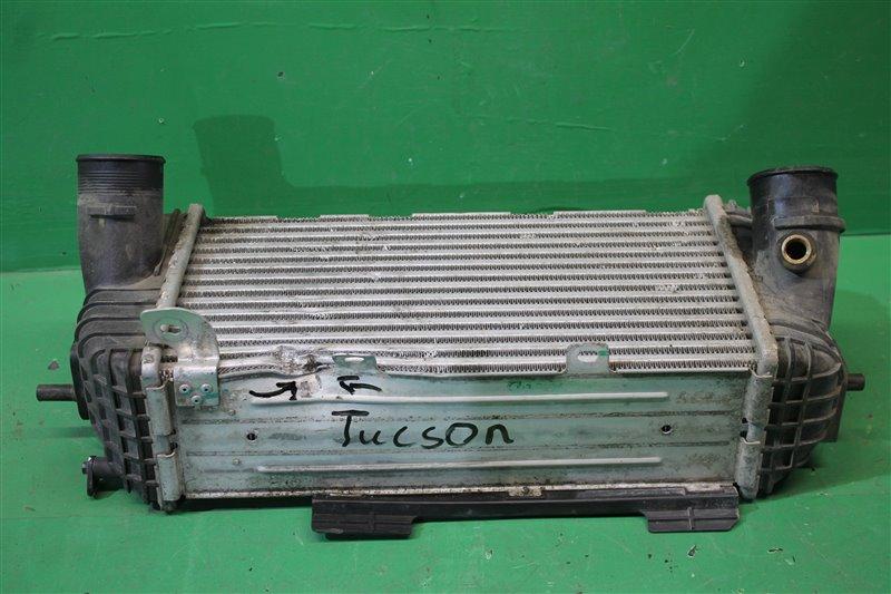 Радиатор интеркулера Hyundai Tucson 3 2015 (б/у)