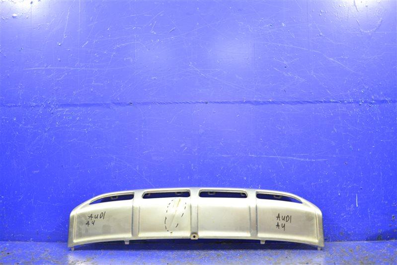 Накладка бампера Audi A4 Allroad B8 2011 передняя нижняя (б/у)