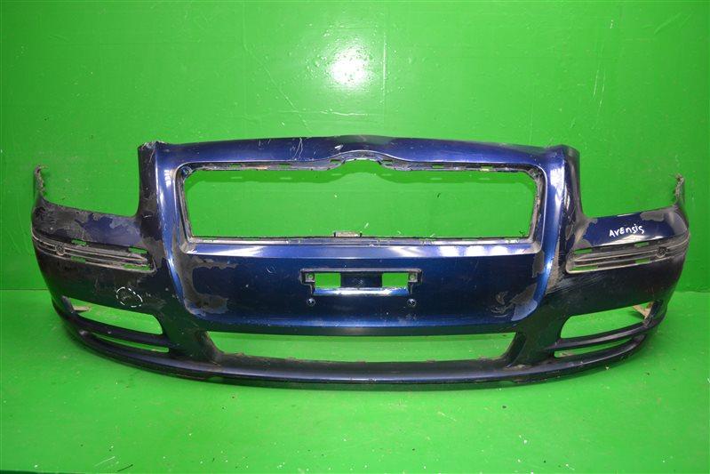 Бампер Toyota Avensis 2 2003 передний (б/у)