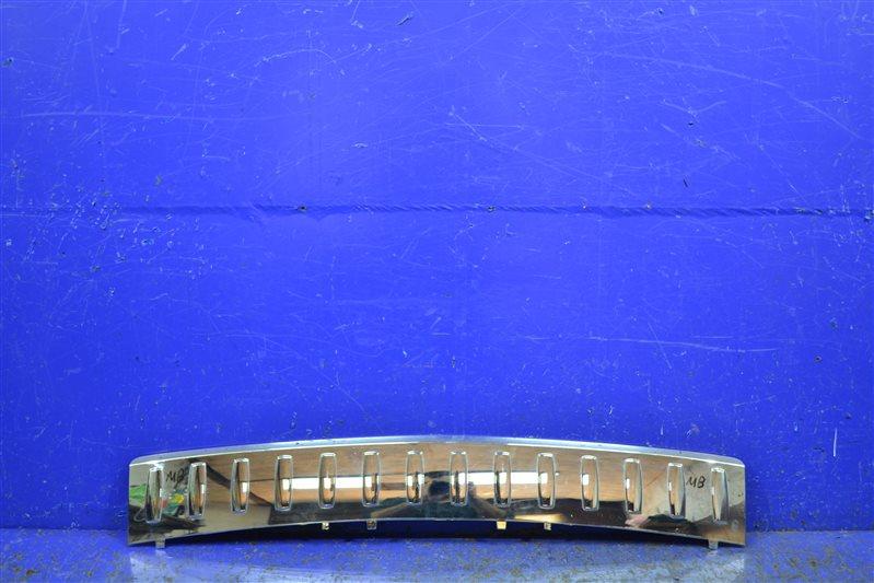 Накладка бампера Mercedes Ml Gle W166 2012 задняя (б/у)