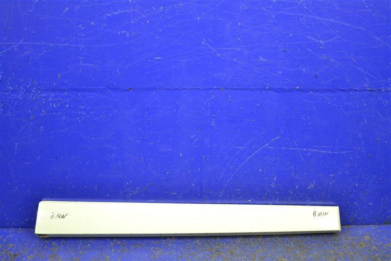 Накладка двери Bmw X3 M Sport F25 2010 передняя правая (б/у)