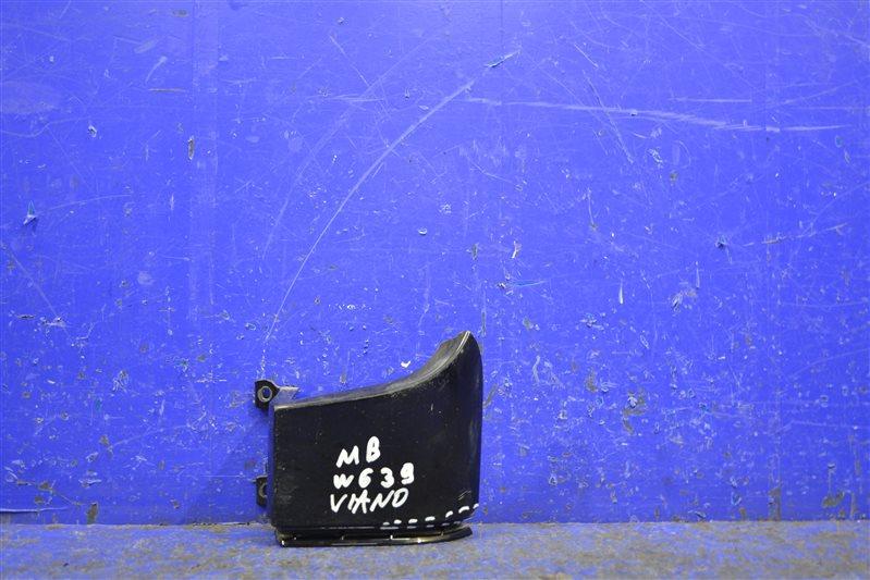 Накладка под фонарь Mercedes Viano Vito W639 2003 задняя правая (б/у)