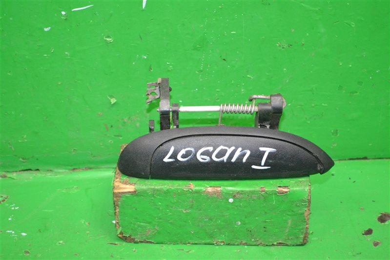 Ручка двери внешняя Renault Logan 1 2004 передняя правая (б/у)