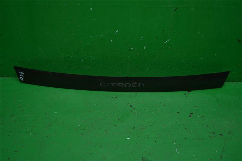Накладка двери багажника Citroen Ds4 2011 (б/у)