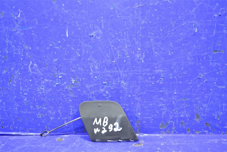 Заглушка бампера amg Mercedes Gle C292 2015 задняя (б/у)