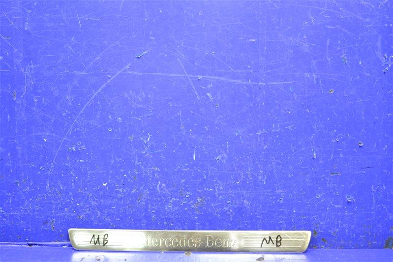 Накладка порога Mercedes Ml Gl X166 2012 передняя левая (б/у)