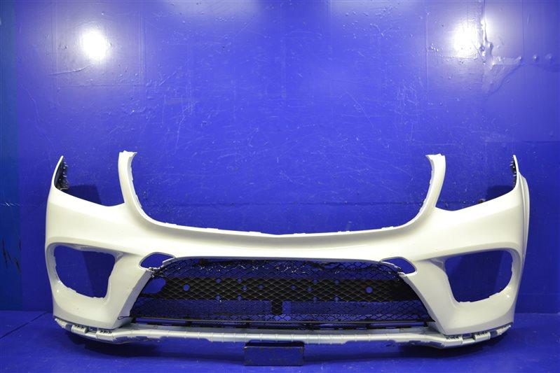 Бампер amg Mercedes Gls X166 2015 передний (б/у)
