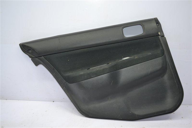 Обшивка двери Mitsubishi Lancer 9 2003 задняя правая (б/у)