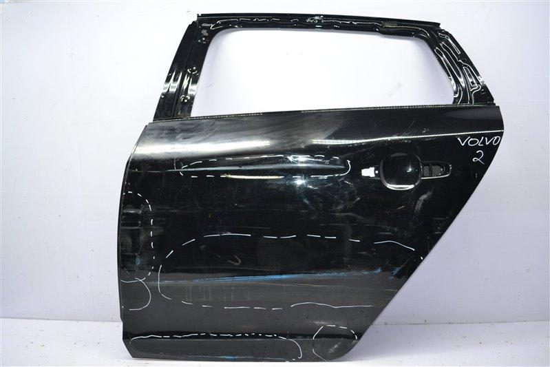 Дверь Volvo V60 1 2010 задняя левая (б/у)