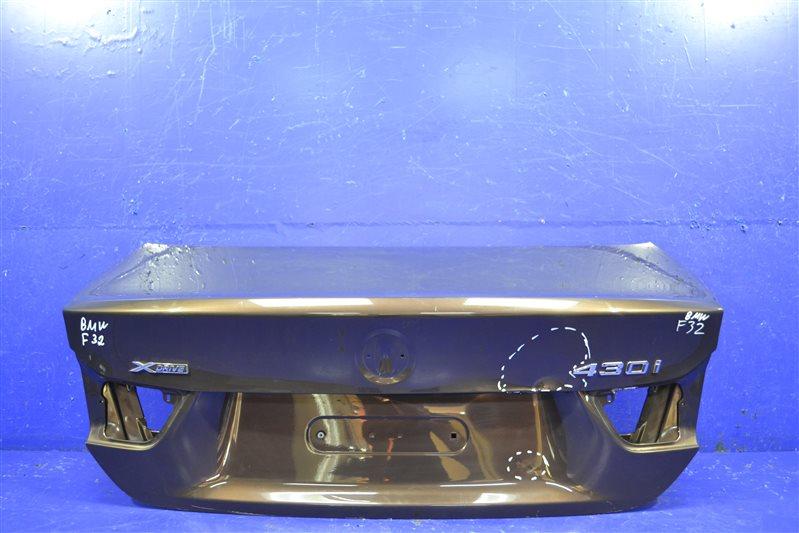 Крышка багажника Bmw 4 F32 2013 (б/у)