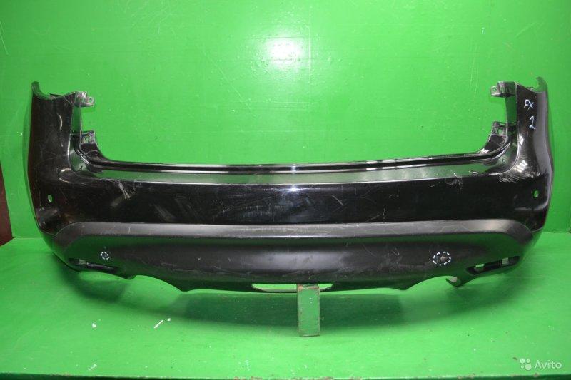 Бампер Infiniti Qx70 2008 задний (б/у)