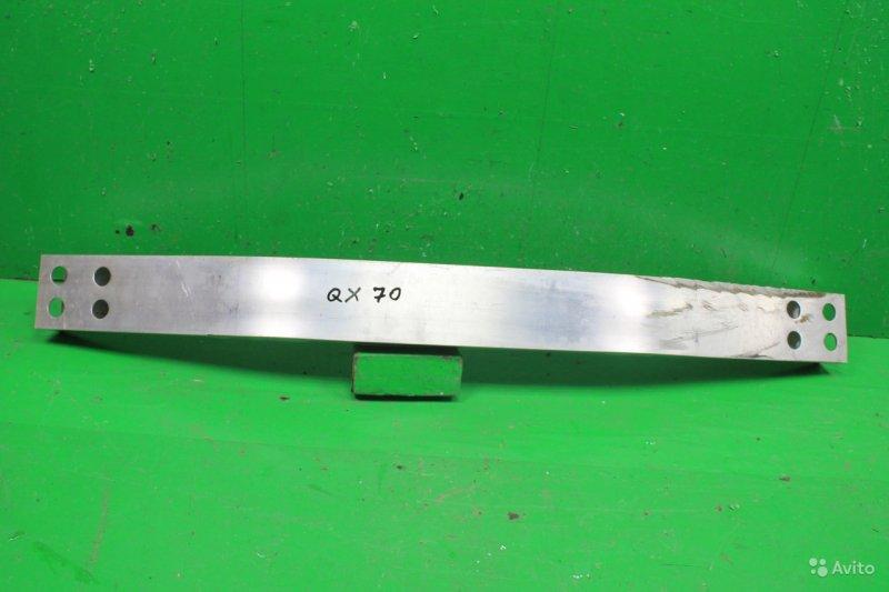 Усилитель бампера Infiniti Qx70 2013 задний (б/у)