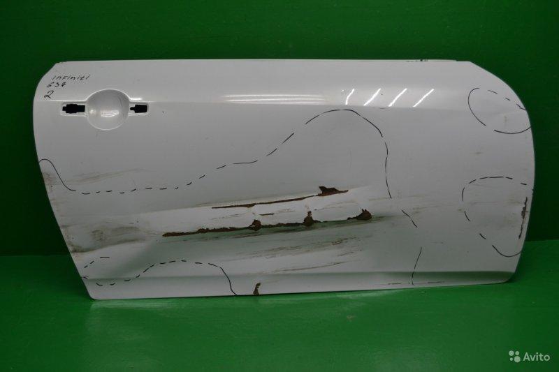 Дверь Infiniti G V36 2007 передняя правая (б/у)