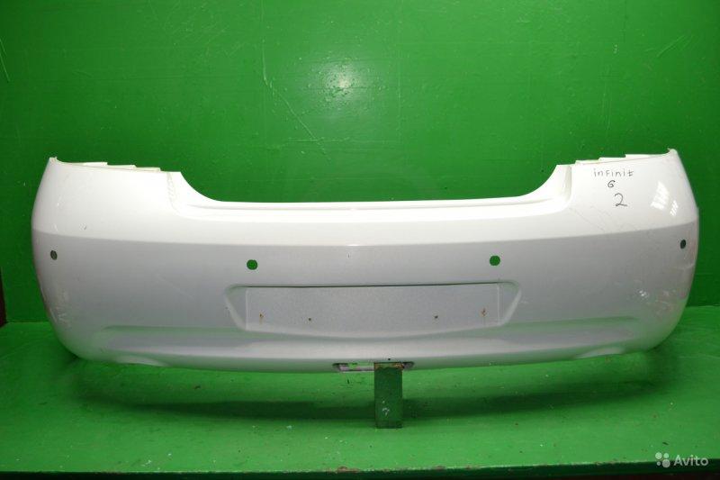 Бампер Infiniti G V36 2006 задний (б/у)