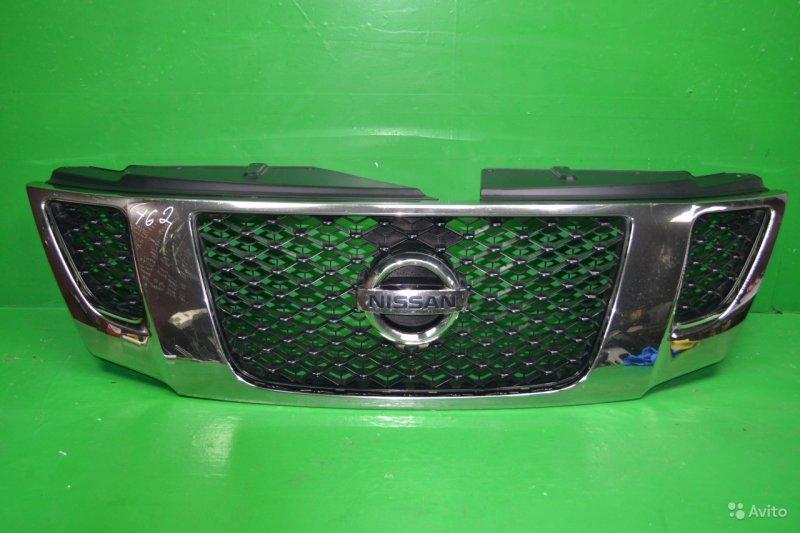 Решетка радиатора Nissan Patrol Y62 2010 (б/у)