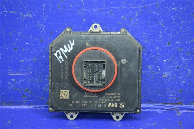 Блок управления фарой Bmw 7 G11 G12 2015 (б/у)