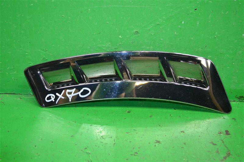 Накладка крыла Infiniti Qx70 2008 передняя правая (б/у)