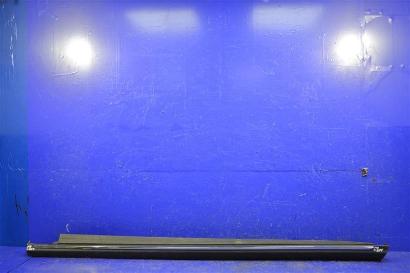 Накладка порога Mercedes Gl Gls X166 2012 левая (б/у)