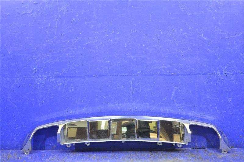 Юбка бампера Mercedes Glk X204 2012 задняя нижняя (б/у)