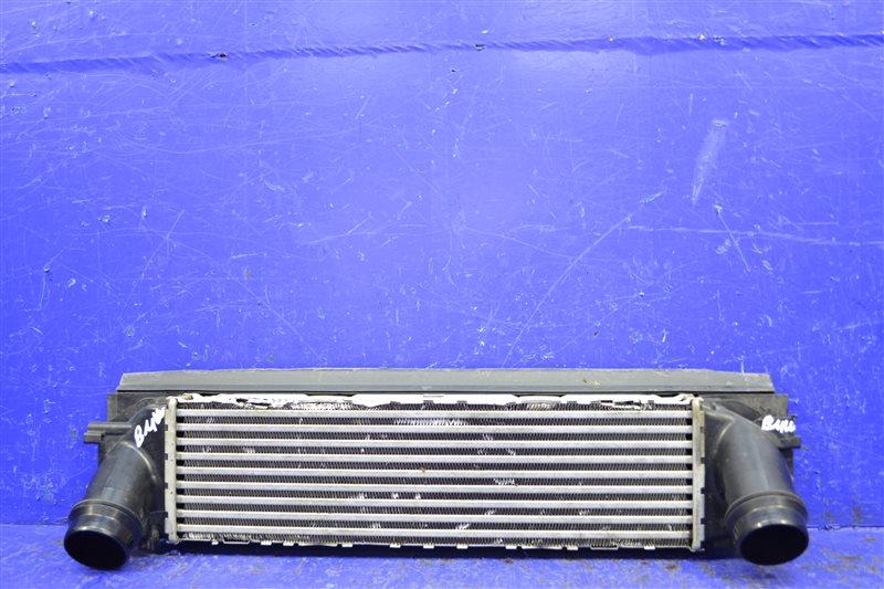Радиатор интеркулера Bmw 1 F20 F21 2011 (б/у)